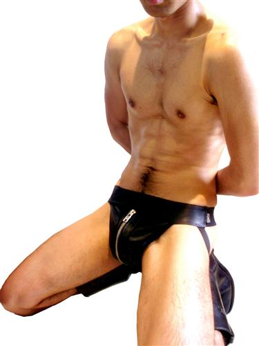 Leather_Jock_Strap_Silver_Zip_2