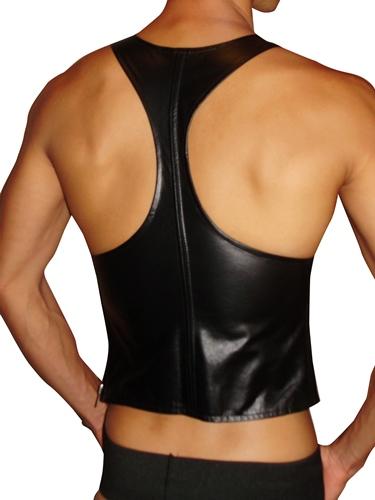 Singlet Leather-back-500
