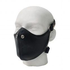 Mister B Leather Bike Mask Fetish Kink BDSM Gay Headgear Apparel Clothing